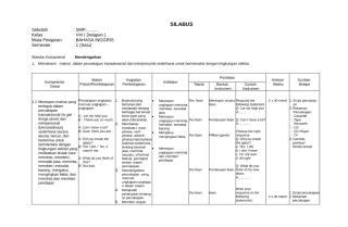 4. B.INGGRIS-KELAS VIII SILABUS.doc
