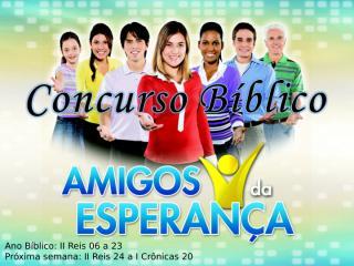 Concurso Bíblico 2011 - 17.ppt