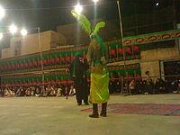 تعزیه علی اکبر - نصوحی و مرشد اسماعیل عارفیان