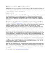 Jay Rasmussen of Naples, FL. Shares on His Career Journey.doc