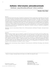 Autismo. Intervenções psicoeducacionais.pdf