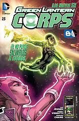 green lantern corps 23 (bloguero arcane blaster - mr. luigi).cbr