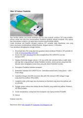 Mini XP dalam Flashdisk.doc