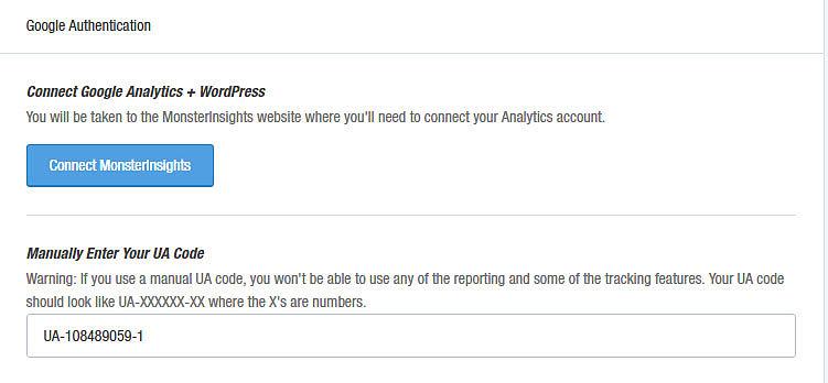 Monsterinsights The best Google Analytics Plugin