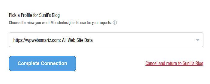 MonsterInsights: Track your Website by Google Analytics inside WordPress Dashboard 2