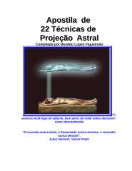 22 Tecnicas Projecao Astral (Beraldo Lopes Figueiredo).doc