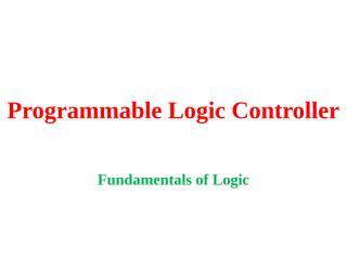 104.Fundamentals of Logic.pptx