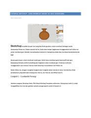 Tutorial Sketchup Menggambar Guci.pdf