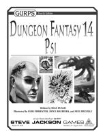GURPS 4th - Dungeon Fantasy 14 - Psi.pdf