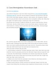 11 cara meningkatkan kecerdasan.docx