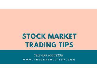 Stock Future Tips.pptx