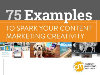 75 Examples to Spark your Content Marketing Creativity.pdf