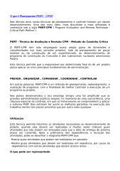 O que é Planejamento PERT.doc