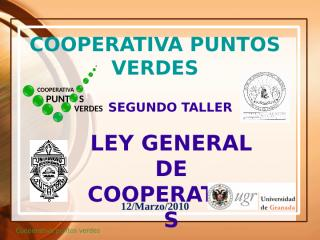 MARZO 12_ LEY GENERAL.ppt