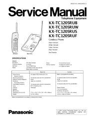 KX-TC1205.pdf