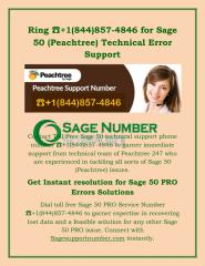 Ring ☎+1(844)857-4846 for Sage 50 (Peachtree) Technical Error Support.pdf