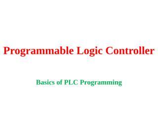 105.Basics of PLC Programming.pptx