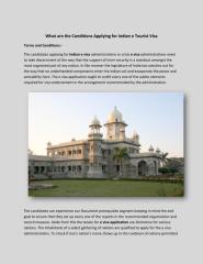 What are the Conditions Applying for Indian e Tourist Visa.pdf