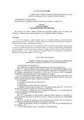 Lei 8112 - Regime Jurídico dos Servidores Públicos Civis da União.doc