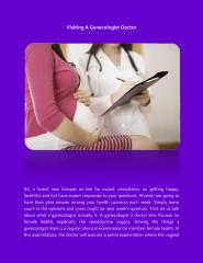 Visiting  A Gynecologist Doctor.pdf
